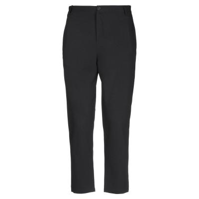 BLACK CIRCUS パンツ ブラック 50 ポリエステル 65% / レーヨン 30% / ポリウレタン 5% パンツ