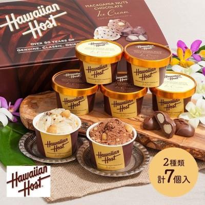 ギフト アイス プレゼント ハワイアンホースト マカデミアナッツチョコアイス 計7個 詰め合わせ スイーツ お取り寄せ 送料無料 IW1000013545 高級 バレンタイン
