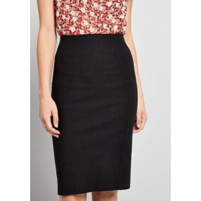 レディース ひざ丈スカート ペンシルスカート スカート i'll have the usual pencil skirt black