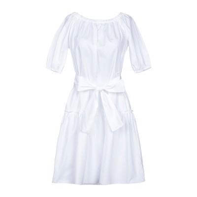 ロベルト コリーナ ROBERTO COLLINA ミニワンピース&ドレス ホワイト XS コットン 100% ミニワンピース&ドレス
