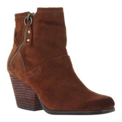 オーティービーティー レディース ブーツ&レインブーツ シューズ Long Rider Ankle Boot New Tan Leather