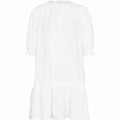 ベルベット グラハムandスペンサー Velvet レディース ワンピース ミニ丈 ワンピース・ドレス Bernice linen minidress White