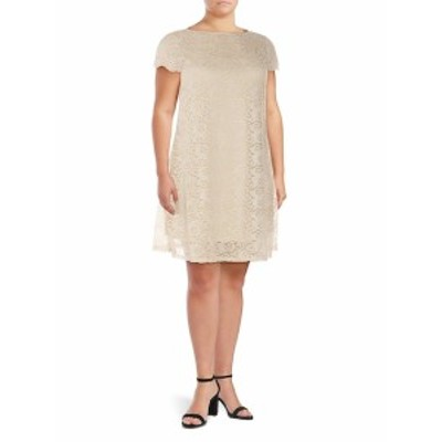 マリーナ レディース ワンピース Plus Lace A-Line Dress