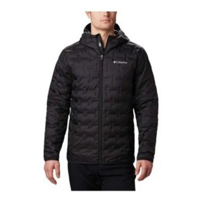 コロンビア メンズ ジャケット&ブルゾン アウター Delta Ridge Down Hooded Winter Jacket (Men's) Black