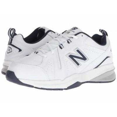 New Balance ニューバランス メンズ 男性用 シューズ 靴 スニーカー 運動靴 608v5 White/Navy【送料無料】