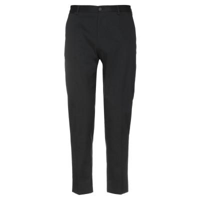 ドルチェ & ガッバーナ DOLCE & GABBANA パンツ ブラック 46 指定外繊維(紙) 97% / ポリウレタン 3% パンツ