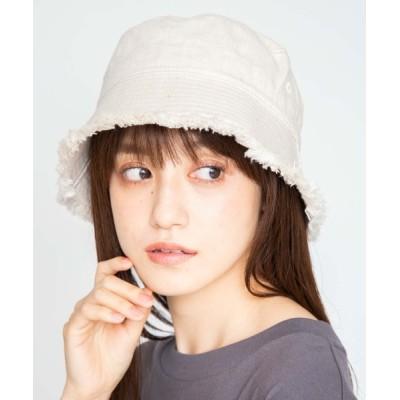 WEGO / WEGO/フリンジバケットハット WOMEN 帽子 > ハット