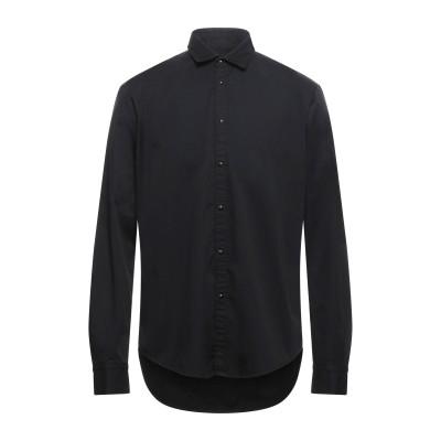 ブライアン デールズ BRIAN DALES シャツ ブラック 45 コットン 100% シャツ