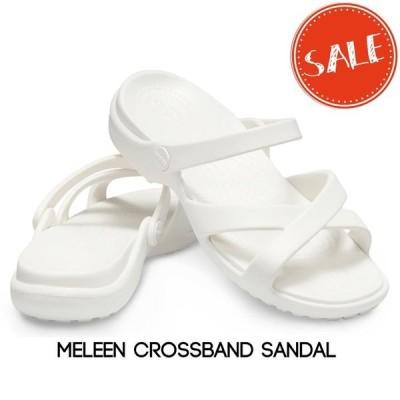 【クロックス crocs レディース】meleen crossband sandal w/メレーン クロスバンド サンダル ウィメン