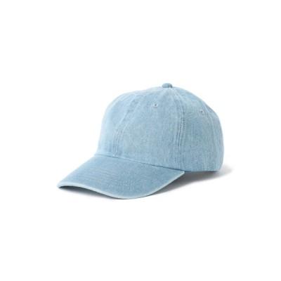 BEAMS MEN / newhattan / デニム ローキャップ MEN 帽子 > キャップ