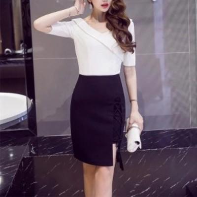 着痩せ 大人上品なAラインスカート ハイウエスト オフィス 送料無料 通勤 ペンシルスカートタイトスカート 夜店 セクシー レディース OL
