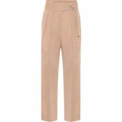 ジル サンダー Jil Sander レディース ボトムス・パンツ high-rise wool gabardine pants Dark Beige