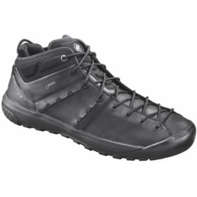 3020-06090-0052 Hueco Advanced Mid GTX(R) Men black-black マムート メンズ シューズ トレッキングシューズ (MAT)(QBJ37)