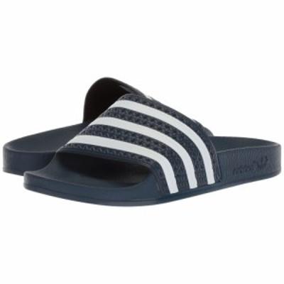 アディダス adidas レディース サンダル・ミュール シューズ・靴 Adilette New Navy/White