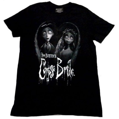 【TIM BURTON'S CORPSE BRIDE】ティム・バートンのコープスブライド Tシャツ