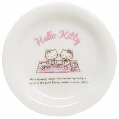 ハローキティ 小皿 ホリデイ ミニプレート ピクニック サンリオ キャラクター グッズ