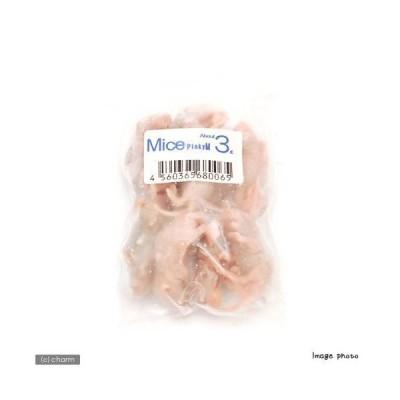 冷凍★M(10匹) カタ養殖 Mice3 冷凍ピンクマウス  パック 冷凍マウス 別途クール手数料 常温商品同梱不可