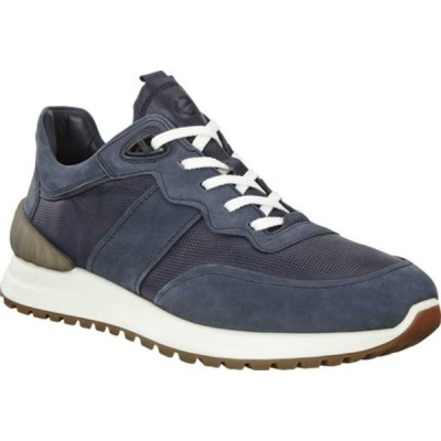 エコー スニーカー シューズ メンズ Astir Retro Sneaker (Men's) Night Sky Full Grain Leather/Nubuck