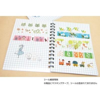 シール堂 Shinzi Katoh シール帳 エレファント&モンキー ks-sb-10008
