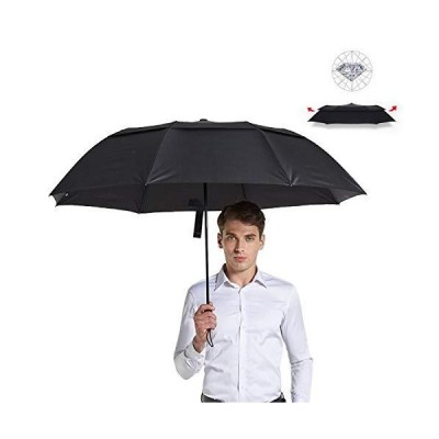 【在庫処分セール】折りたたみ傘 自動開閉 メンズ 大きい 頑丈 晴雨兼用 耐風撥水 12級台風対抗 豪雨/梅雨/台風対策 日傘男子対策 個性傘 210