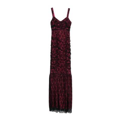 ピンコ PINKO ロングワンピース&ドレス フューシャ 38 ナイロン 93% / ポリウレタン 7% ロングワンピース&ドレス