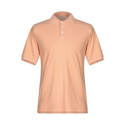 HARDY CROBB'S ポロシャツ あんず色 M コットン 100% ポロシャツ