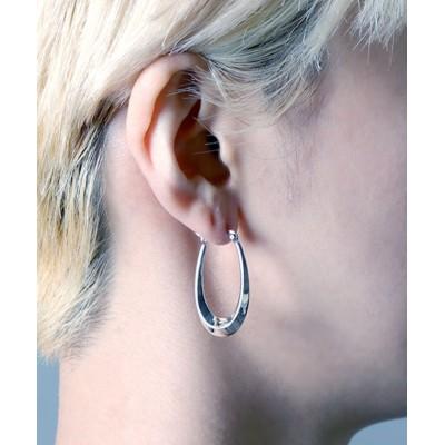 【メゾンムー】 silver925 hoop U pierce/フープUピアス シルバー925 ユニセックス シルバー FREE MAISON mou