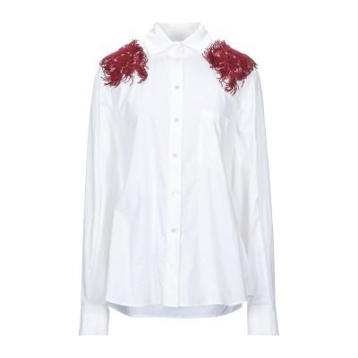 パロッシュ P.A.R.O.S.H. シャツ ホワイト M コットン 100% シャツ