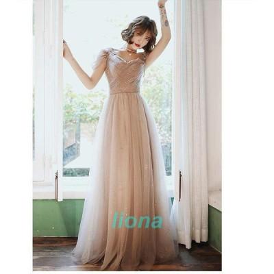 ウエディングドレス ブライズメイド ロングドレス お呼ばれ パーティードレス 大きいサイズ 二次会 結婚式 ナイトドレス 演奏会 ピアノ 発表会 忘年会