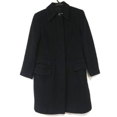 グッチ GUCCI コート サイズ40 M レディース - 黒 長袖/冬【中古】20210223