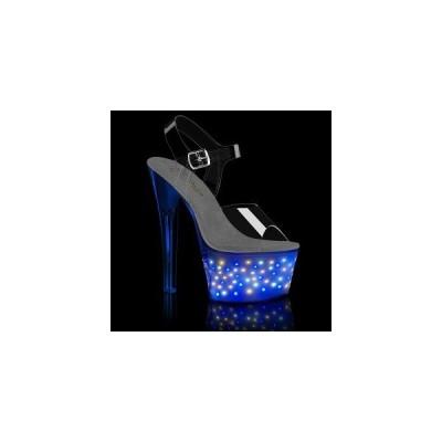 ファッション レディース ハイヒール Clr/White Glow Pleaser ECHOLITE-708 echolt708-c-wglow お取り寄せ商品