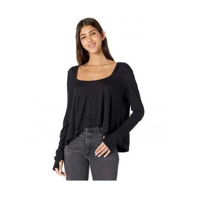 FP Movement レディース 女性用 ファッション アクティブシャツ Soul Searcher Long Sleeve - Black