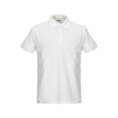 BOMBOOGIE ポロシャツ ホワイト 3XL コットン 100% ポロシャツ