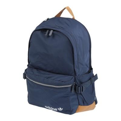 ADIDAS ORIGINALS バックパック&ヒップバッグ ダークブルー 紡績繊維 / 革 バックパック&ヒップバッグ
