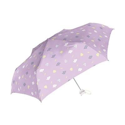 折りたたみ傘-親骨50cm-開閉らくらく-指をはさまない-ki-088