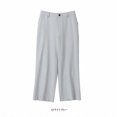 ストレッチフレアパンツ【LL―5L】(フルールバイミントブリーズ/fleur by mint breeze)