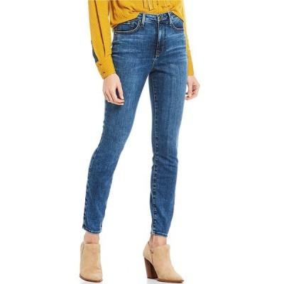 エヌワイディージェイ レディース デニムパンツ ボトムス Ami High Rise Skinny Jeans Presidio