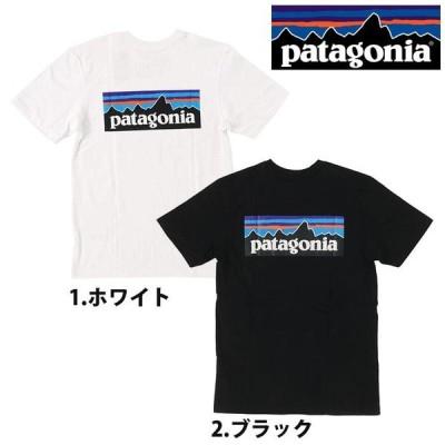 ゆうパケット Patagonia パタゴニア M's P-6 Logo Responsibili-Tee 38504 レスポンシビリティー メンズ Tシャツ 半袖 バックプリント 売れ筋 (pat0098)
