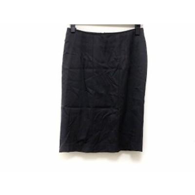 マテリア MATERIA スカート サイズ38 M レディース 美品 黒【中古】20190814