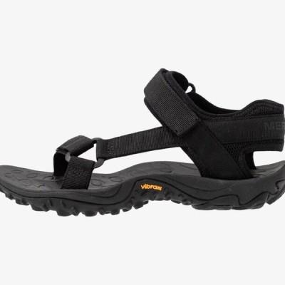 メレル レディース 靴 シューズ KAHUNA WEB - Walking sandals - black
