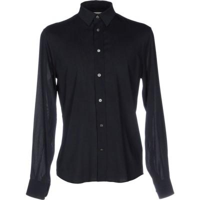 アクネ ストゥディオズ ACNE STUDIOS メンズ シャツ トップス Solid Color Shirt Dark blue