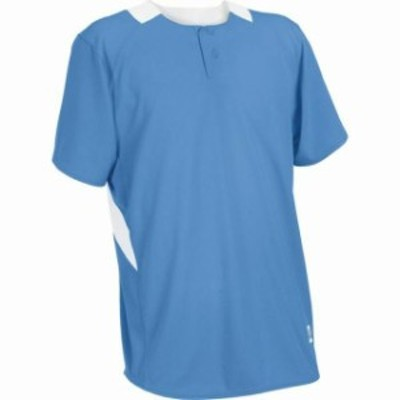 Russell ラッセル スポーツ用品 ベースボール Russell Athletic Youth 2-Button Placket Baseball Jersey