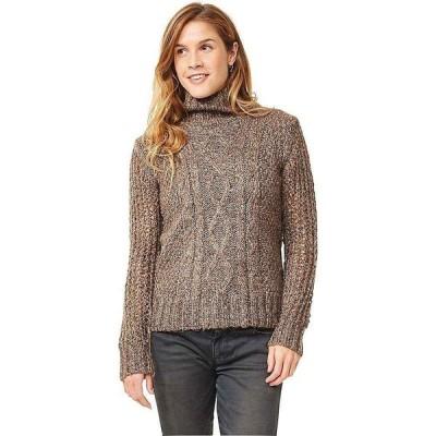 カーヴデザイン Carve Designs レディース ニット・セーター トップス eastpoint sweater Marled Chestnut