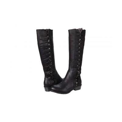 VOLATILE ヴォラタイル レディース 女性用 シューズ 靴 ブーツ ロングブーツ Tabloid - Black/Pewter