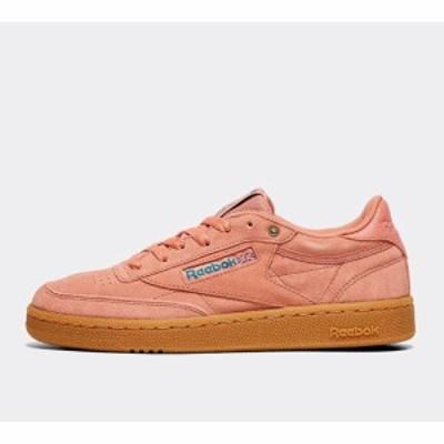 リーボック Reebok レディース スニーカー シューズ・靴 club c 85 trainer Dirty Apricot/Teal/Gum