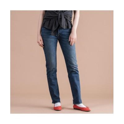 【リーバイス】 501(R) JEANS FOR WOMEN BLUE BOOTS レディース DARKINDIGO-FLATFINISH ウエスト27股下30 Levi's