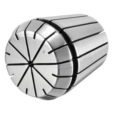 uxcell スプリングコレットチャック ER40-3mm CNC彫刻機 旋盤 フライス盤 40Cr スチール