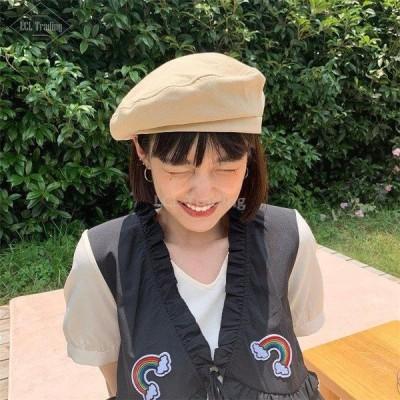帽子 レディース 春 夏 40代 キャップ 収納 6色 ハット ベレー帽 折りたたみ 可愛い 韓国風 きれいめ おしゃれ カジュアル ゆったり シンプル 大人 通勤 新品