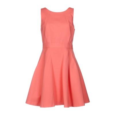 タラ ジャーモン TARA JARMON ミニワンピース&ドレス ピンク 42 コットン 100% ミニワンピース&ドレス