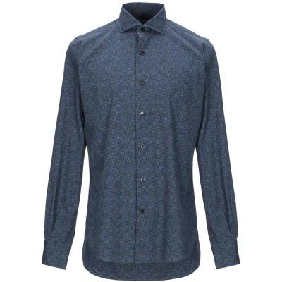 ORIAN シャツ ダークブルー 39 コットン 100% シャツ